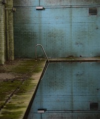 Swimming Pool (Sam Tait) Tags: uk england abandoned pool swimming derelict