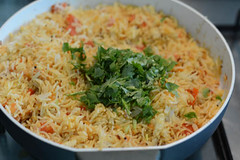tomato rice recipe, south indian style tomato rice recipe-10