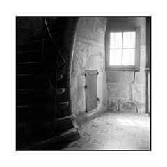 staircase • dole, jura • 2014 (lem's) Tags: window minolta jura staircase escalier dole fenetre autocord