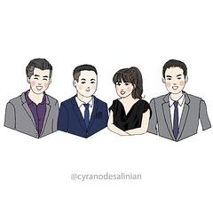ขอบคุณภาพน่ารักๆจาก @cyranodesalinian @cyranodesign