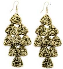5th Avenue Brass Earrings P5031A-4