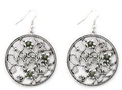 Glimpse of Malibu Green Earrings P5812-4