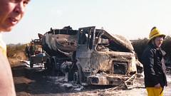 Crash 07 (tonysturdey) Tags: truck crash accident oct lorry vehicle trucks petrol 1977 tanker petroltanker petroltankercrash