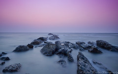 Seascape (rahul_2800) Tags: longexposure sea india beach seascapes goa beaches arabian vagator sigma1020mm hoyandfilter hoyandx400 canon550d rahulkinikar