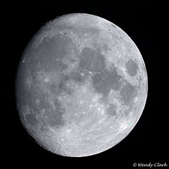 91% Waxing Gibbous Moon (twinklespinalot) Tags: moon astronomy waxinggibbous moonwatch