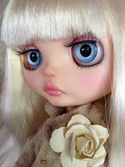 Angie Blue (DollFace Blythe) Tags: ebay auction ooak artdolls blythe custom adoption dollface blythedolls dollfaceblythe