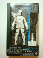 Star Wars: Black  Boba Fett (Prototype Armor)  Boxed Front (BurningAstronaut) Tags: black toy actionfigure starwars prototype armor bobafett boxed walgreens exclusive 6inch