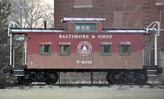 Indianapolis, Indiana (2 of 2) (Bob McGilvray Jr.) Tags: railroad train indianapolis tracks indiana caboose bo baltimoreohio c2023