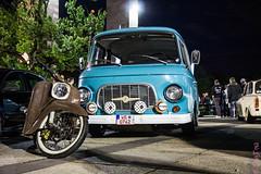 Barkas & Schwalbe (TinyTina83) Tags: berlin cars bike licht oldschool retro nutella autos tuning ratte lightshow canoneos motorrad schwalbe tinytina barkas kr51 b1000 ratlook 60d kr50 xscarnight tinaschildhauer