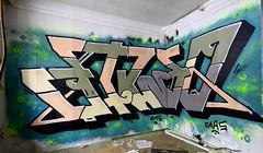 pispala 43 -4 (Logical Progression) Tags: street old city urban streetart color art abandoned wall suomi finland painting graffiti town artwork paint artist factory fame tracks spray countries match nordic graff aerosol tampere hof perkele taide katutaide katu pispala urbanarte kaupunkitaide tikkutehdas finstreetart