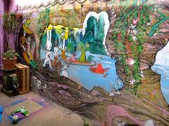 fresque inachevée mc1984 (mc1984) Tags: mc1984 fresque mur anabelle acrylique posca