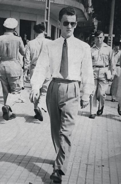 A Saigon, dans les années 1950. JACQUES CHANCEL passera huit ans en Asie