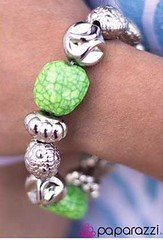Glimpse of Malibu Green Bracelet K1 P9430A-3