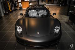 Porsche 918 Spyder (*AM*Photography) Tags: black nikon spyder special exotic german porsche hybrid rare supercar matte 918 d3200 hypercar worldcars