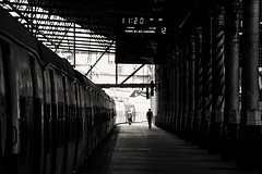 Victoria station, Mumbai, India