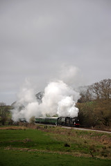 SwR 27755 (kgvuk) Tags: trains locomotive railways 440 steamtrain steamlocomotive manston t9 462 herston battleofbritainclass swanagerailway 30120 34070 lswrgreyhound
