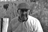. (jmv_yo) Tags: portrait white black blanco retrato negro asturias contraste boina abuelo granfather