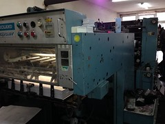 Roland Favorit 2 (Kitmondo.com) Tags: colour industry electric ink work print photo industrial factory technology tech printer working machine equipment machinery printing roland cylinder roller labour kit rollers electronic