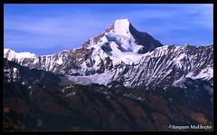 Nanda Kot (6861m) (Anupam Mukherjee) Tags: travel india heritage tourism architecture canon indie uttaranchal himalaya indi indien inde madeinindia  barato indija    ndia kumaon uttarakhand incredibleindia  nandakot intia pithoragarh   chaukori   hindiya uttarakhan     indja    anupammukherjee anupammukherjeephotography