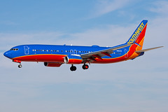 N8641B Southwest Airlines 737-800 (Centreline Photography) Tags: las vegas southwest plane canon airplane airport lasvegas aircraft aviation nevada airplanes flight aeroplane planes boeing chrishall flughafen winglet runway spotting klas airliner airliners mccarran 737 southwestairlines planespotting flug 737800 spotters boeing737 lasvegasairport eos400d splitscimitar n8641b centrelinephotography