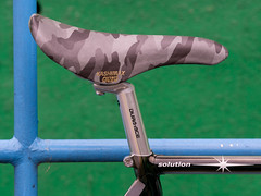 #Presto #OldSchool (funkyruru) Tags: postprocessed bike hsinchu taiwan cycle fixie fixedgear pista velodrome trackbike presto njs trackfever mzuikodigitaled75mmf18 hsinchuvelodrome