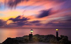 Key Largo (Robert Sendziak) Tags: longexposure sunset sea clouds canon keys key long exposure florida south vivid filter nd largo