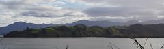 Hokianga Harbour 2 (Markj9035) Tags: sunset sea newzealand lake ferry coast lakes windswept coastline northland ahipara northlands oponomi