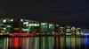 Duisburg - Innenhafen - Gastronomiemeile. / Inner Harbor - Eat Street. (Wolfgang's digital photography) Tags: city panasonic duisburg ruhrgebiet hdr innenhafen gastronomie nachtaufnahme niederrhein fz50 ruhrpott ausflugsziel