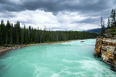 Athabasca Falls (Jeroenolthof.nl) Tags: road lake snow canada mountains ice water landscape drive jeroen scenery jasper scenic columbia falls alberta parkway bow kayaking banff icefields athabasca icefield sunwapta olthof jeroenolthofnl