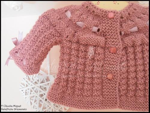 Casaquinho tricot