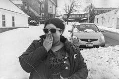 After the snow (Robchaos) Tags: street city blackandwhite snow film westminster car lomo lomography mainstreet maryland rangefinder surprised kodachrome canonet canonet28 carrollcounty caffenol cityofwestminster homedeveloping westminstermainstreet