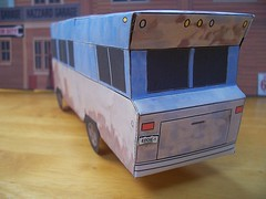 Christmas Vacation RV papercraft (official inspection station) Tags: paper eddie rv papercraft christmasvacation cousineddie papercars papercarmodels