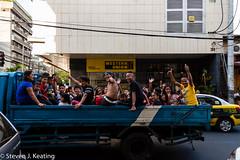 Manila Streets (stevenkeating58) Tags: people happy philippines manila malate mabinistreet