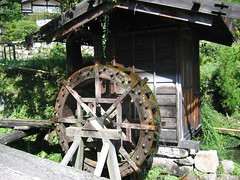 Water Wheel on the Kiso Road