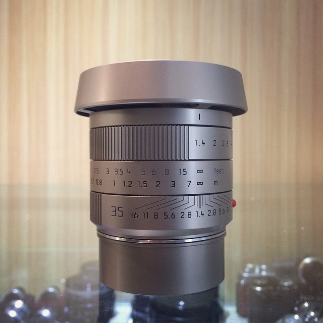 Just arrived - Leica Summilux-M 35mm F1.4 ASPH - Stainless Steel / M60 / FLE (Selling lens alone with hood, caps & documents).   http://www.fotopia.com.hk/?full#!product/showAjax/1708/