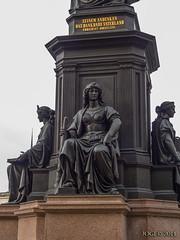 """Dresden, Denkmal """"Friedrich August II, Knig von Sachsen"""", Oktober 2014 (joergpeterjunk) Tags: dresden outdoor architektur denkmal 2014 historisch friedrichaugustii knigvonsachsen panasonicdmcfz200"""