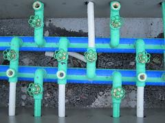 Pipeline pattern (Gurn Harardttir) Tags: colour dig pipeline