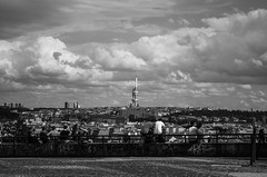 Watching the city (littlelionman97) Tags: prague czechrepublic czech republic city europe zizkov tower panorama view ceska
