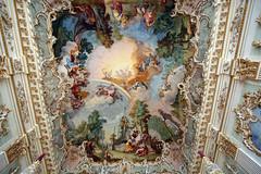 Castello Nymphenburg: Interni della reggia (falco di luna) Tags: monacodibaviera monaco baviera castellodinymphenburg schlossnymphenburg castello nymphenburg reggia interni affreschi visita