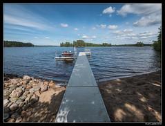 Dock (lyncaudle) Tags: ely gus landscape lyncaudle minnesota nature travel vacation northwoods lake