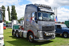 Hazel Haulage Volvo FH Globetrotter PO65 UPB (5asideHero) Tags: volvo truckfest south west wales 2016 fh globetrotter hazel haulage po65 upb