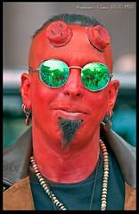 Hellboy (zweiblumen) Tags: hellboy mcmmanchestercomiccon manchestercentral cosplay canoneos50d canon70300mm anonspeedlite430exii lumiquestpocketbouncer zweiblumen photoshopcs4