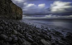 Nash Point (explored briefly 11/07/16 #6) (MarkWaidson) Tags: sky beach point rocks le nash