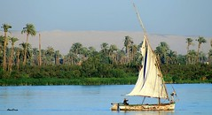 The Nile River (Ahmed.Dream) Tags: by sailboat nil segelboot nileriver bateauvoile gwlap commentbygwlap ahmeddream