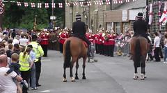 Duke of Lancasters Regiment Freedom of Rossendale Parade (mrrobertwade (wadey)) Tags: street police lancashire mounted regent rossendale milltown haslingden robertwade wadeyphotos mrrobertwade