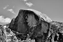Half Dome at half day, Yosemite National Park (keithwalsh205) Tags: california blackandwhite nationalpark nikon yosemite halfdome mountians earthday