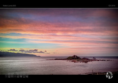 Stripey Morning (tomraven) Tags: morning pink sky sun clouds sunrise island stripes stripey 830 lumia tomraven pureview aravenimage q32016