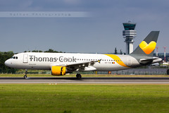 BRU - Airbus A320-214 (OO-TCH) Thomas Cook Belgium (Aro'Passion) Tags: bru ebbr brussels bruxelles a320 a320214 thomas cook belgium ootch tower control natw aropassion airport zaventem 60d canon photography photos reverse repousse landing atterrissage