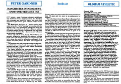 Manchester City vs Oldham Athletic - 1983 - Page 12 (The Sky Strikers) Tags: road xmas city canon magazine manchester football athletic maine second match oldham division saab league the 40p