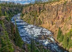 Lewis River Canyon (Philip Kuntz) Tags: canyon explore rivers yellowstonenationalpark yellowstone wyoming chasm lewisriver lewisrivercanyon